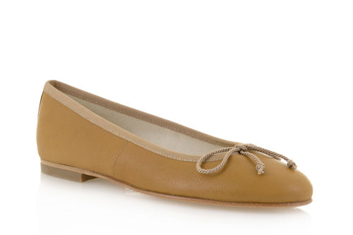 Tan leather - 0.5cm heel